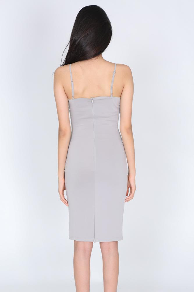 Jenevive Dress in Grey