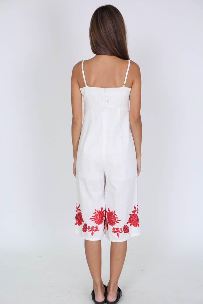 Lovella Jumpsuit in White