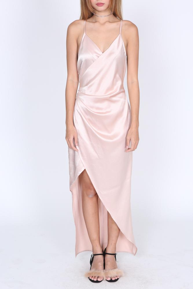 Nelly Dress in Champagne