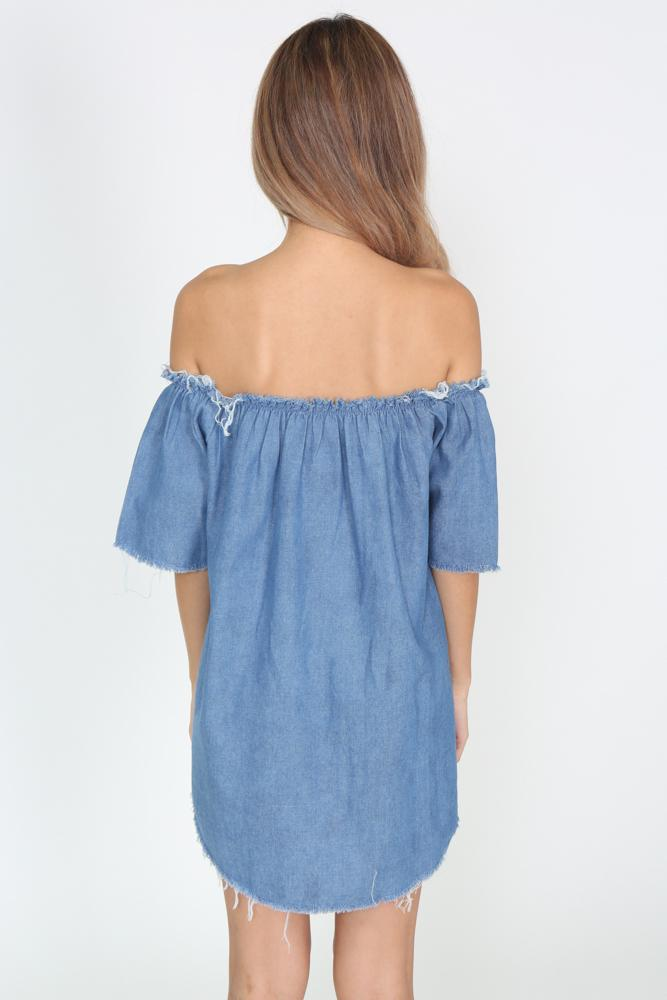 Shailene Denim Dress