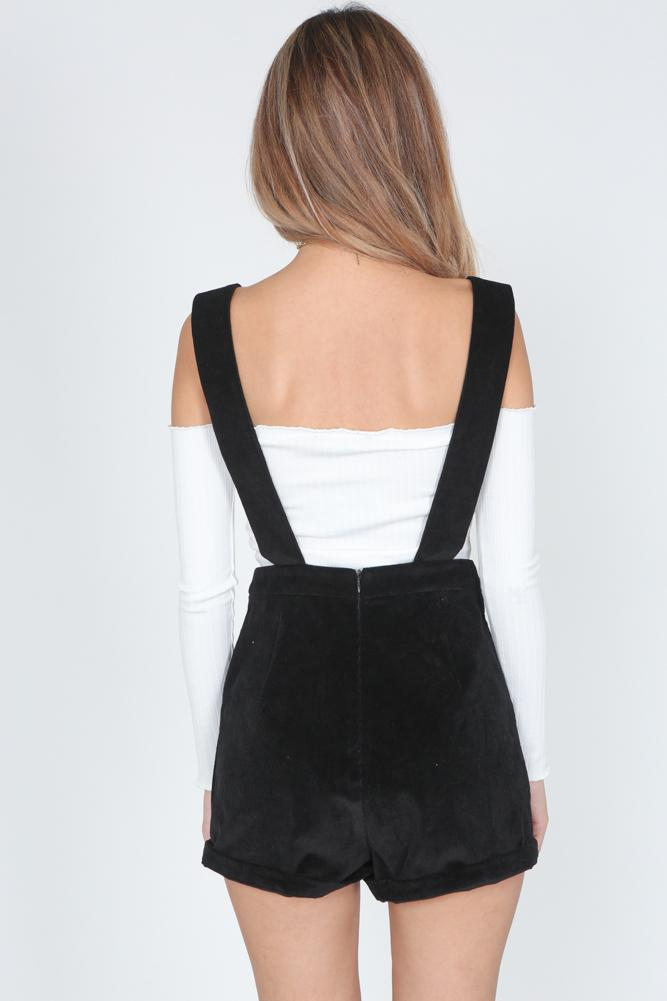 Evie Overall in Black