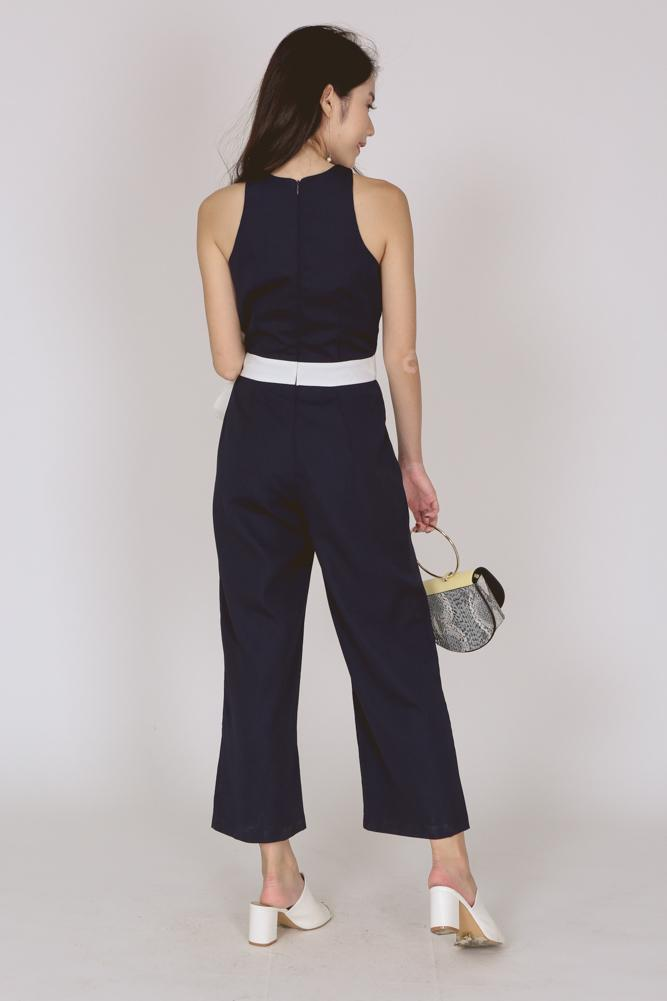 Tank Jumpsuit in Midnight
