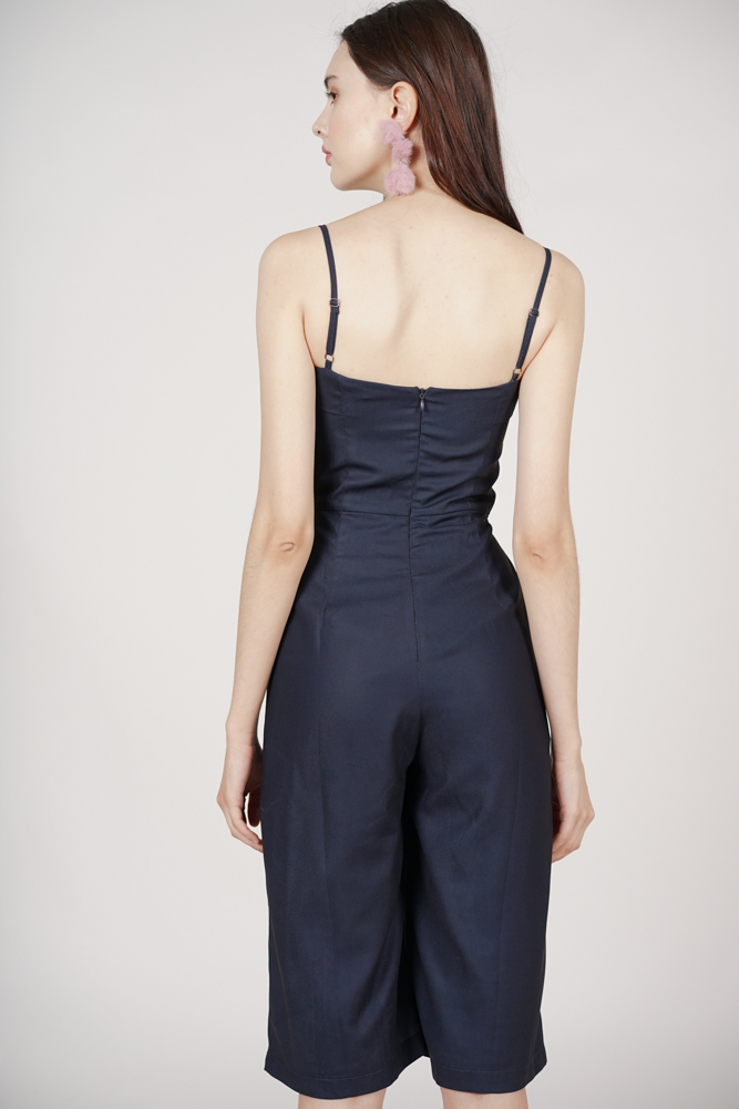 Muscari Jumpsuit in Midnight