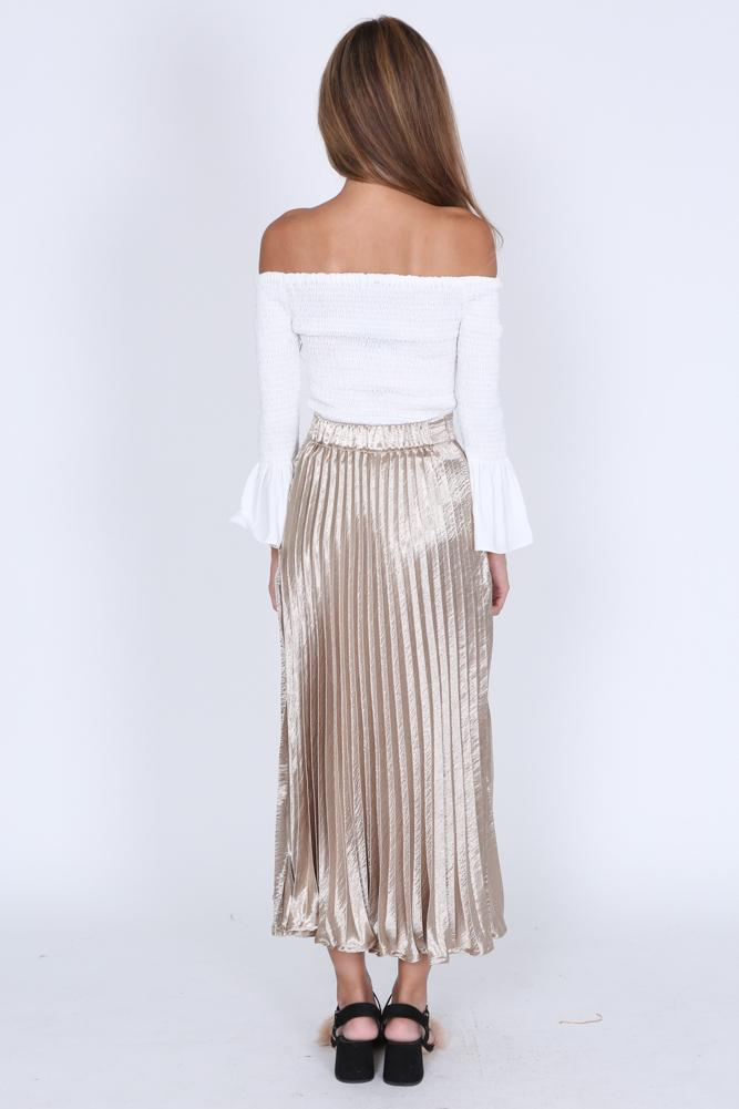 Cadall Skirt in Gold