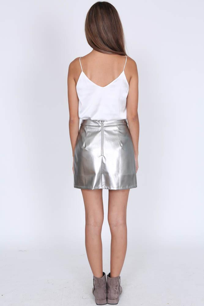 Yanna Skirt in Gunmetal