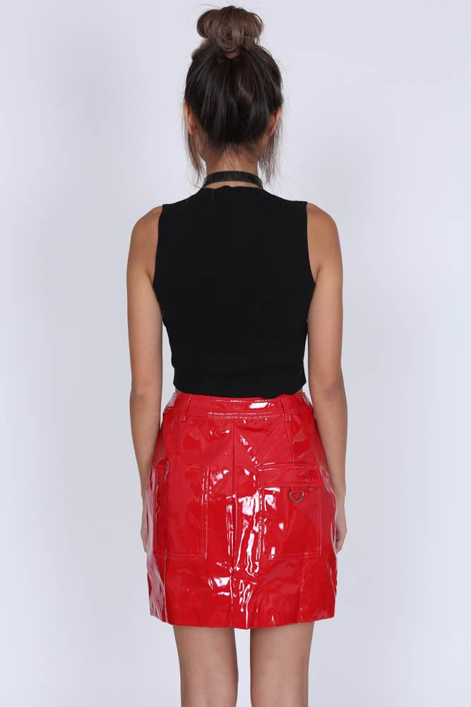 Candace Skirt in Red