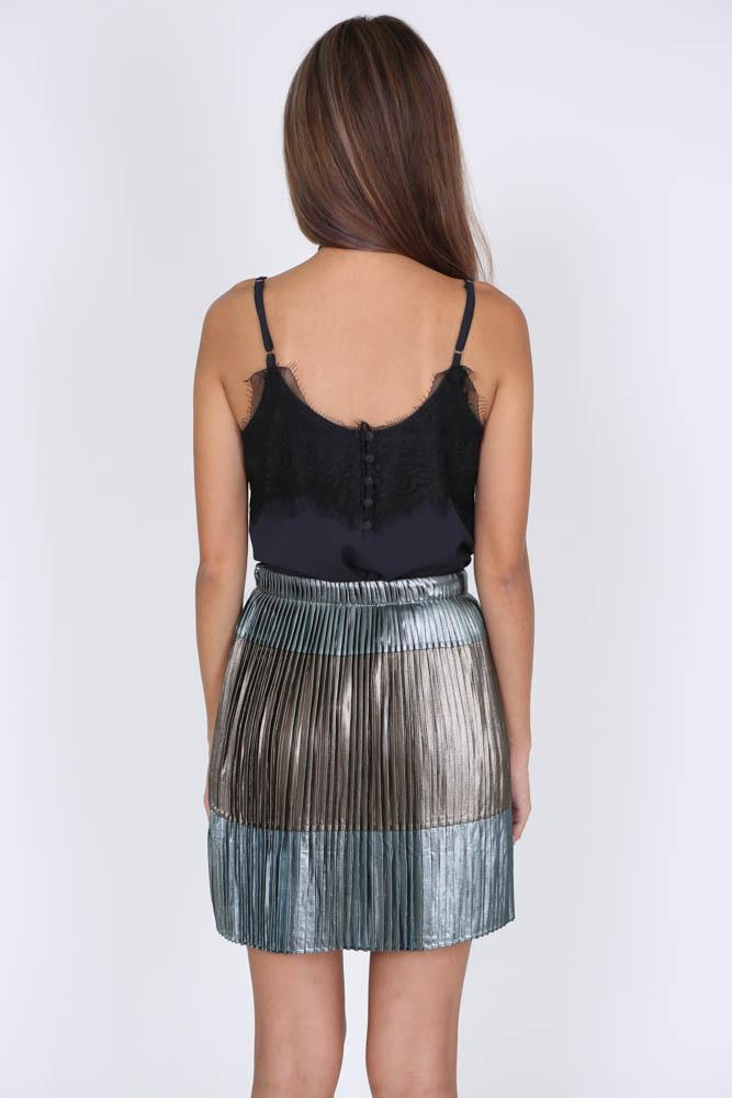 Brigitte Skirt in Gunmetal