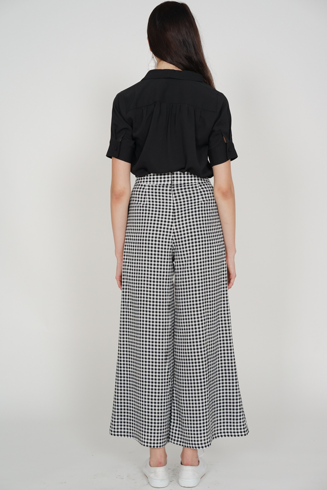 Contemporary Pants in Gingham