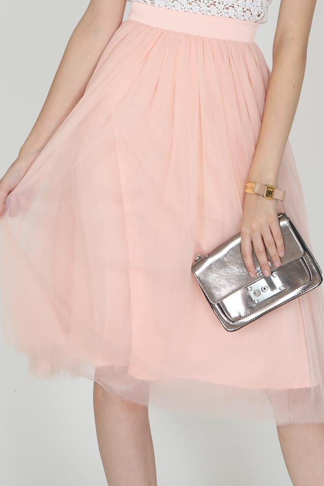 Tulle Skirt in Pink