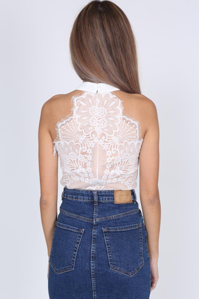 Wendi Top In White