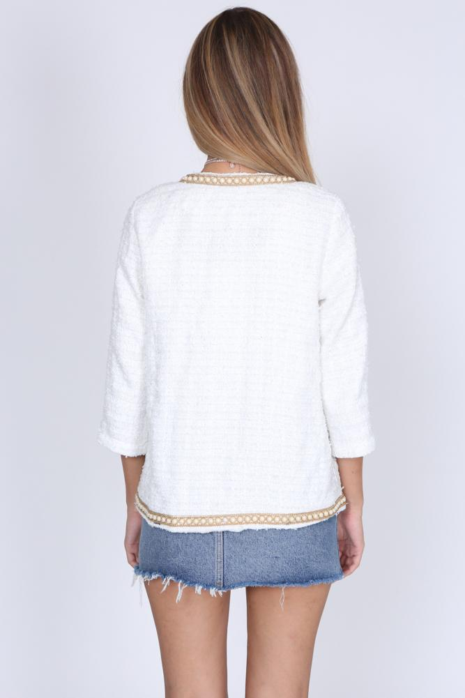 Myrine Jacket in White
