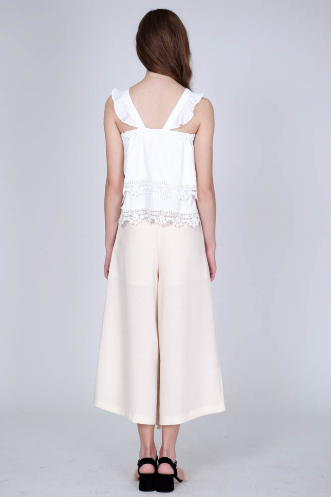 Claiborne Pants in Ivory