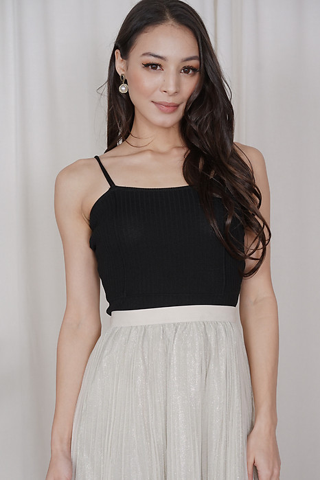 Kuina Cami Top in Black - Online Exclusive