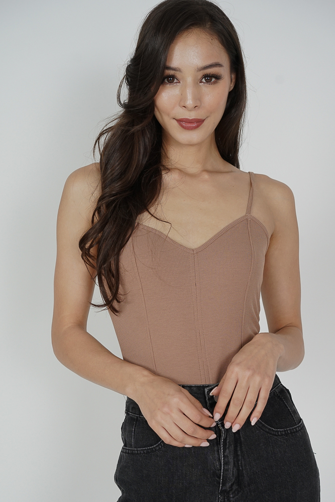 Jennie Bodysuit in Nude - Online Exclusive