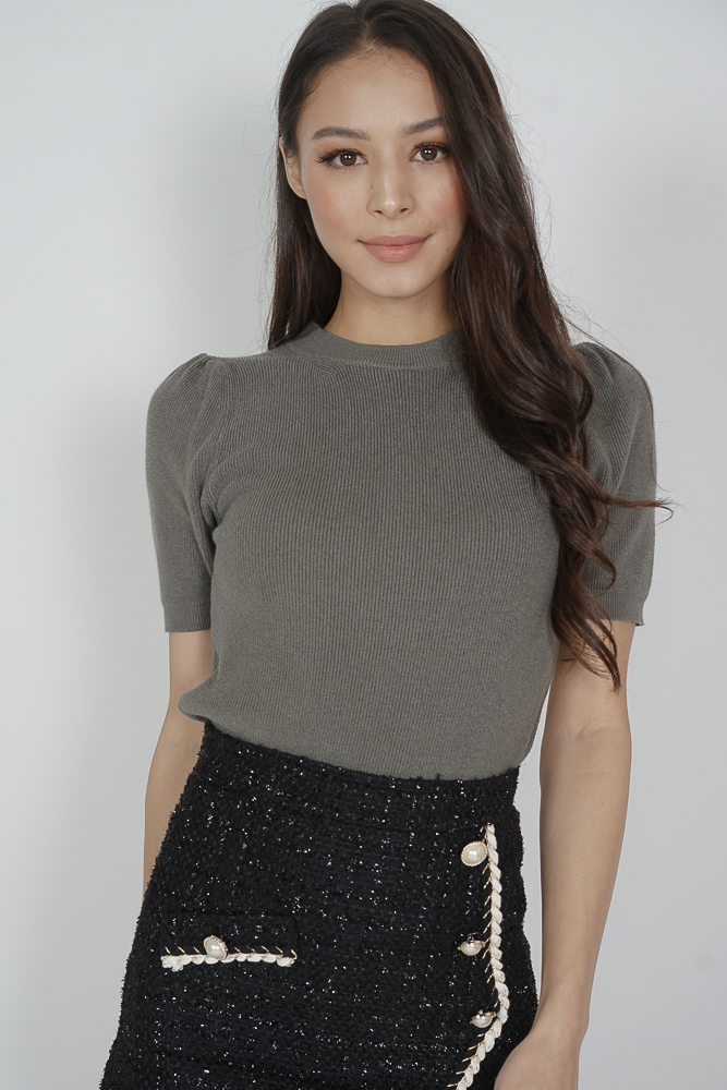 Lova Top in Dark Grey - Online Exclusive
