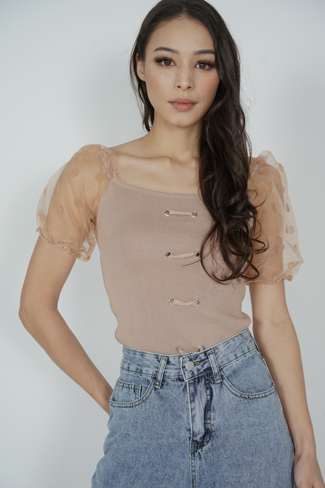 Kayden Top in Nude - Online Exclusive