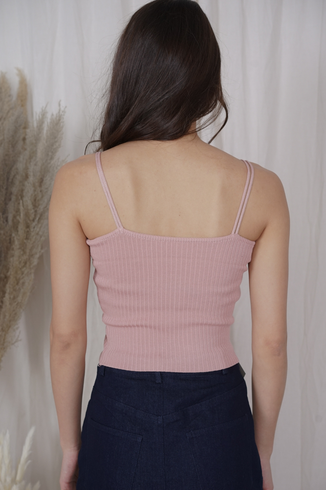 Kuina Cami Top in Pink - Online Exclusive